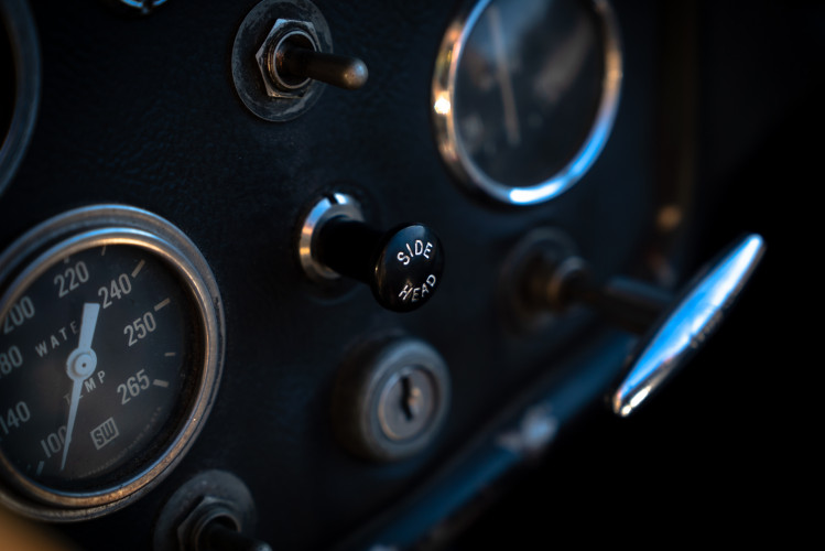 """1958 Triumph TR3A """"Small Mouth"""" 24"""