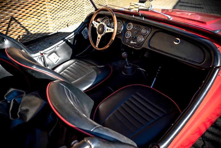 """1958 Triumph TR3A """"Small Mouth"""" 6"""