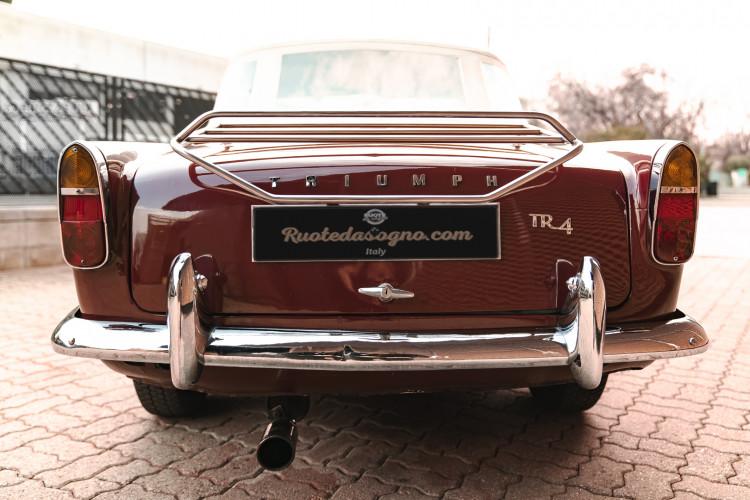 1963 Triumph TR4 Sport 12