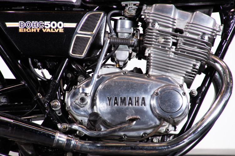 1976 Yamaha TX 500 8