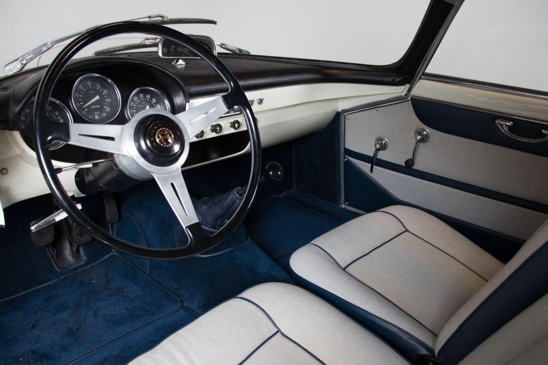 1961 Alfa Romeo Giulietta Sprint Speciale 4916