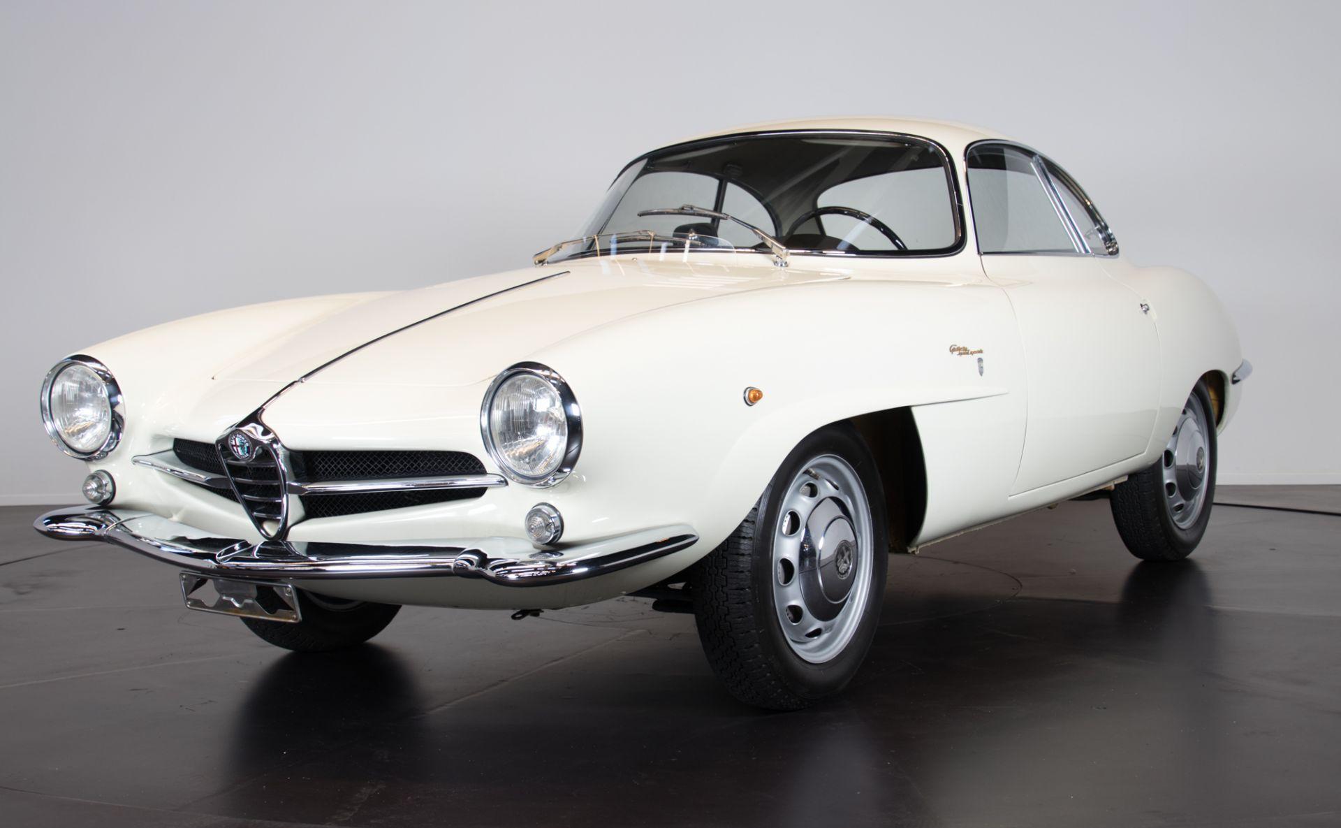 1961 Alfa Romeo Giulietta Sprint Speciale 4899