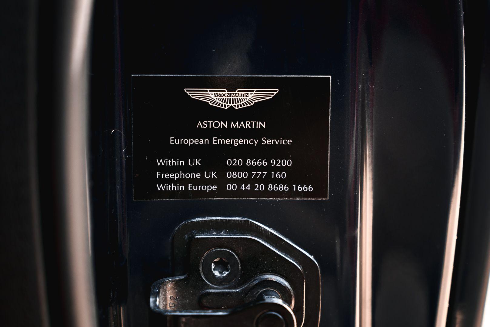 2001 Aston Martin V12 Vanquish 67953