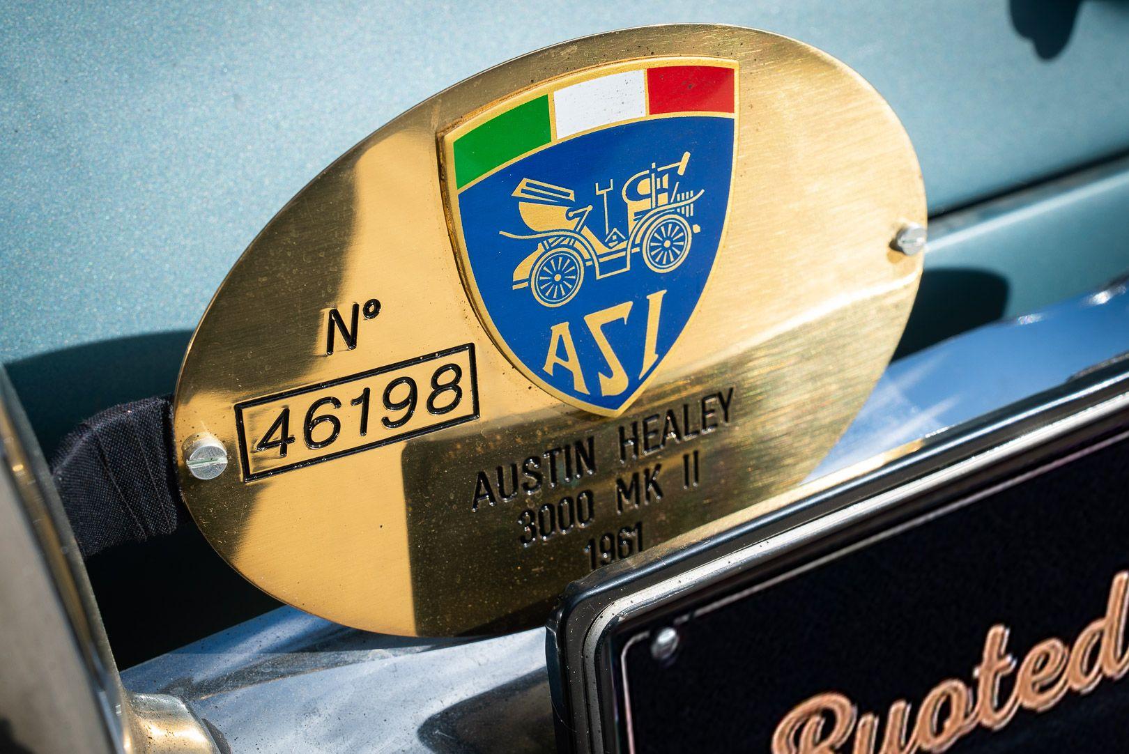 1961 Austin Healey BT7 3000 MKII 60389