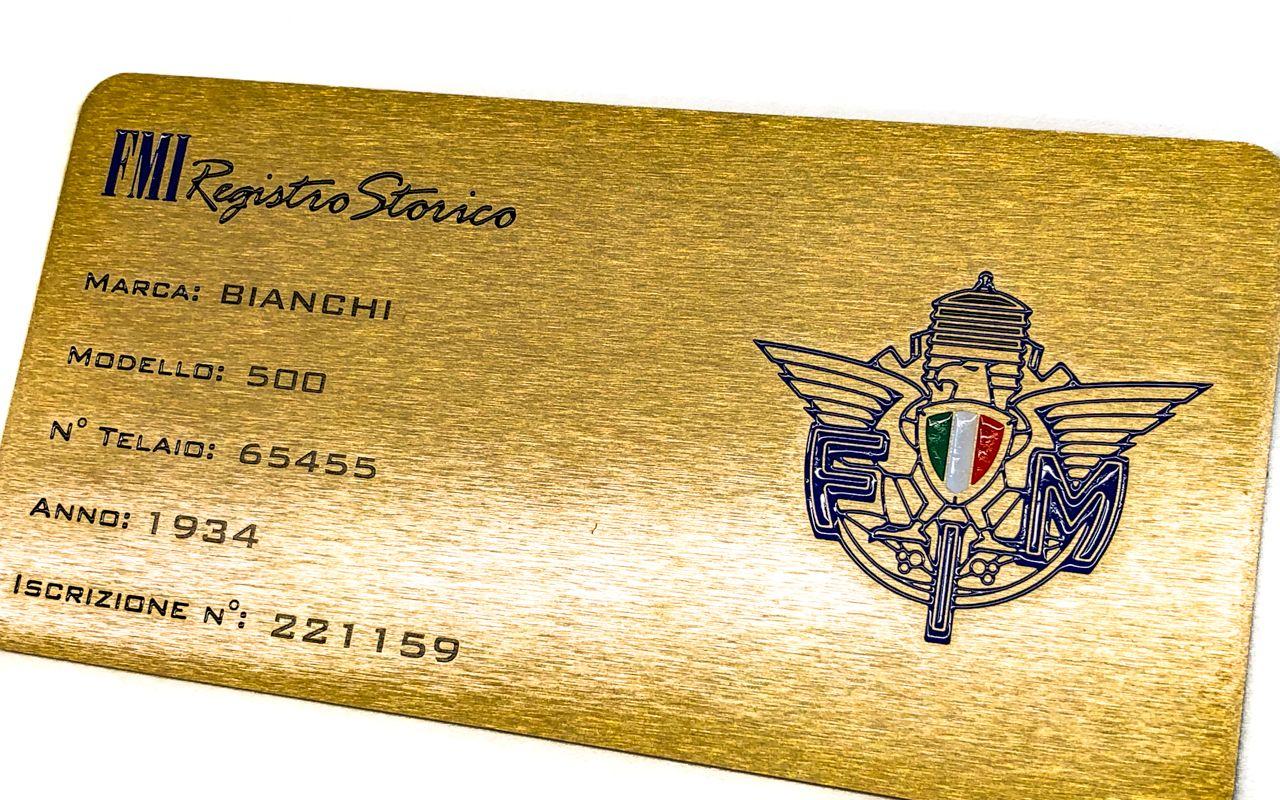 1934 Bianchi 500 Super Sport 42547