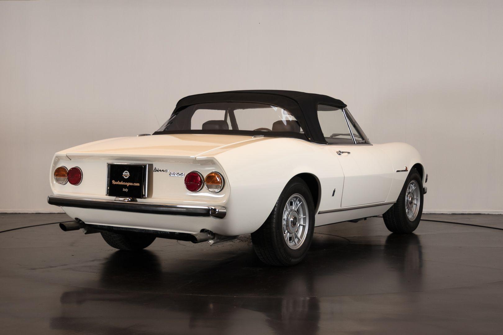 1970 Fiat Dino Spider 2400 10921