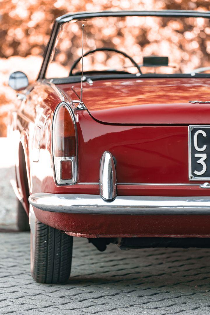 1962 Fiat 1200 Cabriolet Pininfarina 76336