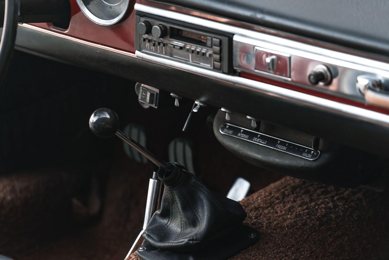 1962 Fiat 1200 Cabriolet Pininfarina 76345
