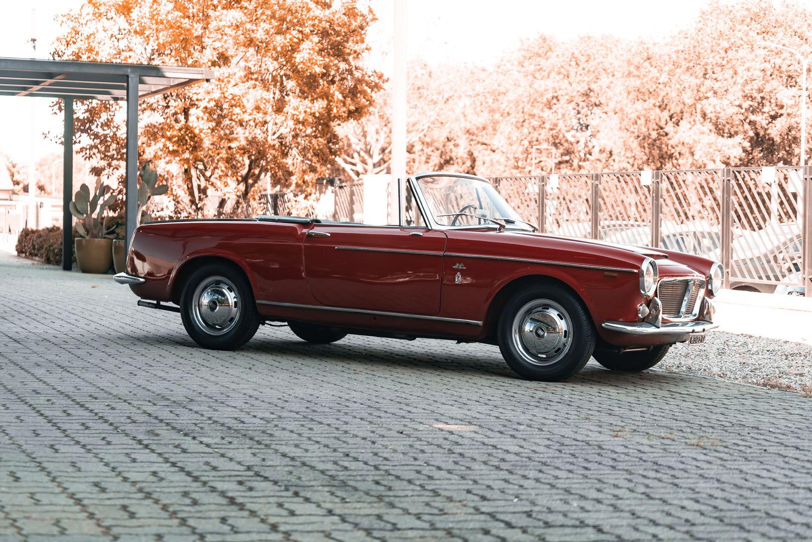 1962 Fiat 1200 Cabriolet Pininfarina 76317