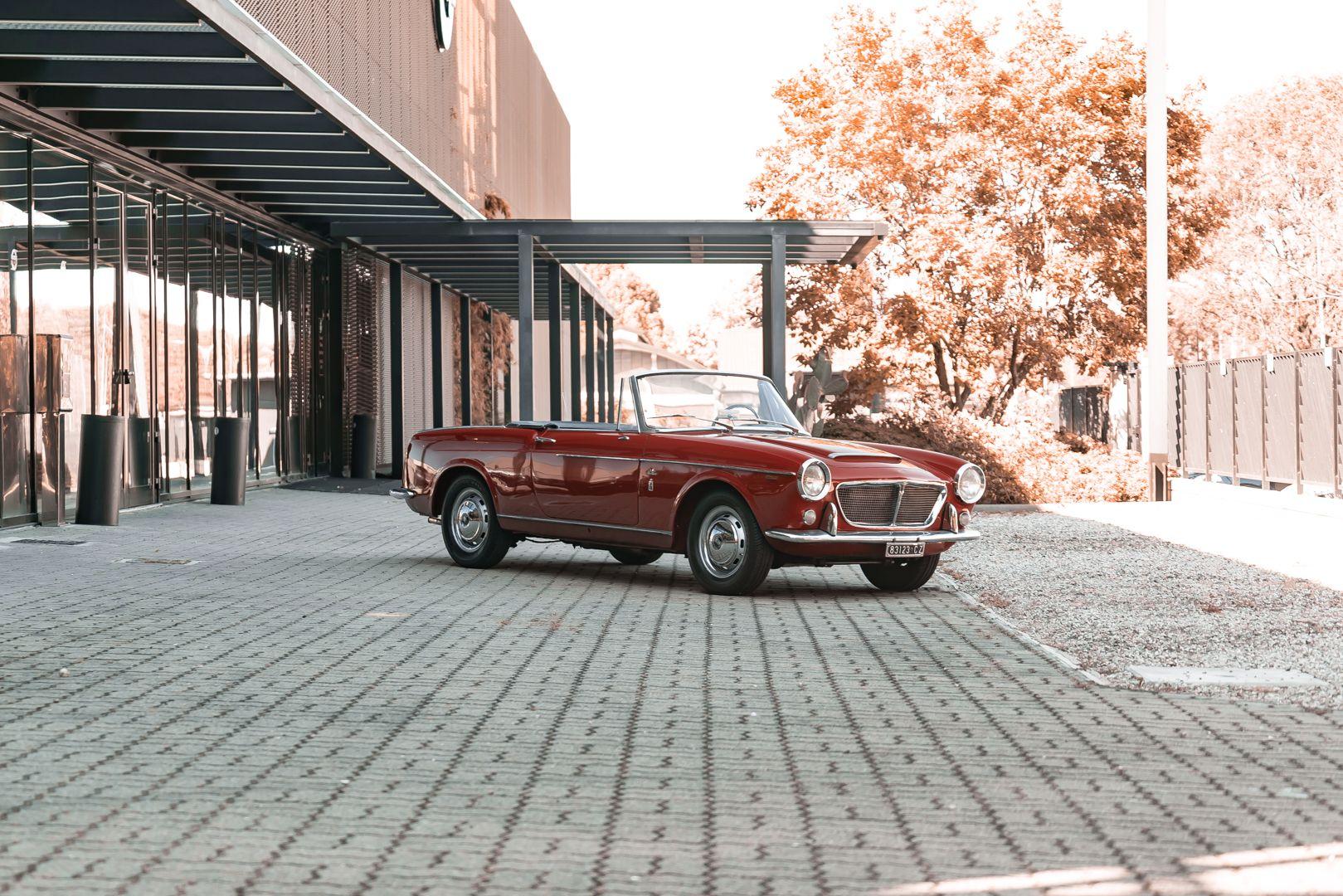 1962 Fiat 1200 Cabriolet Pininfarina 76316