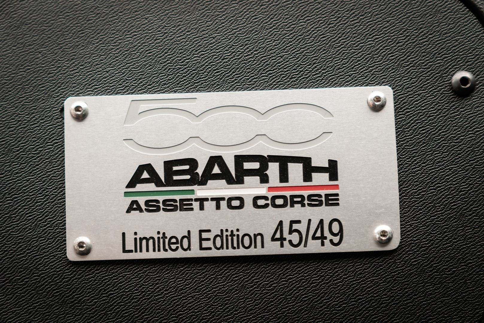 2008 Fiat 500 Abarth Assetto Corse 45/49 77397