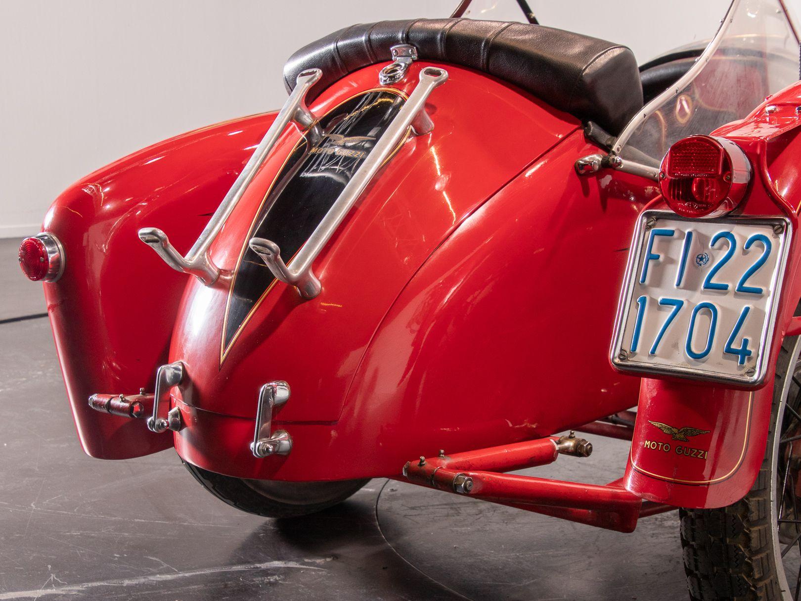 1956 Moto Guzzi 500 FS Sidecar 44966