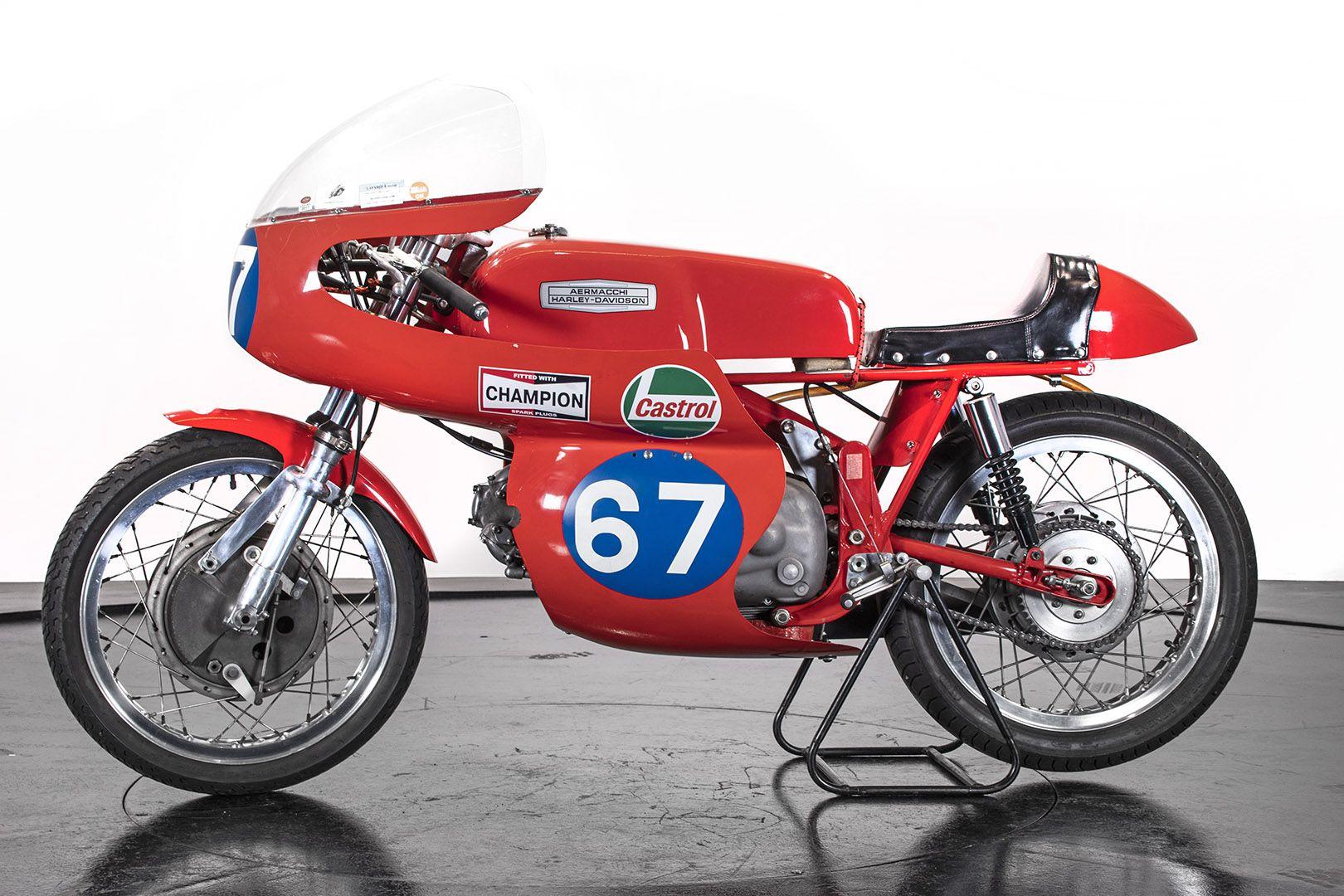 1969 Aermacchi Harley-Davidson 350 Ala d'oro 61113