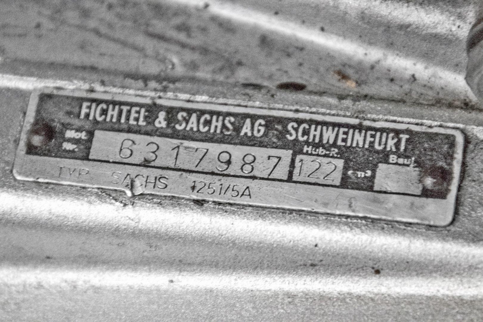 1969 Hercules GS 125 38835