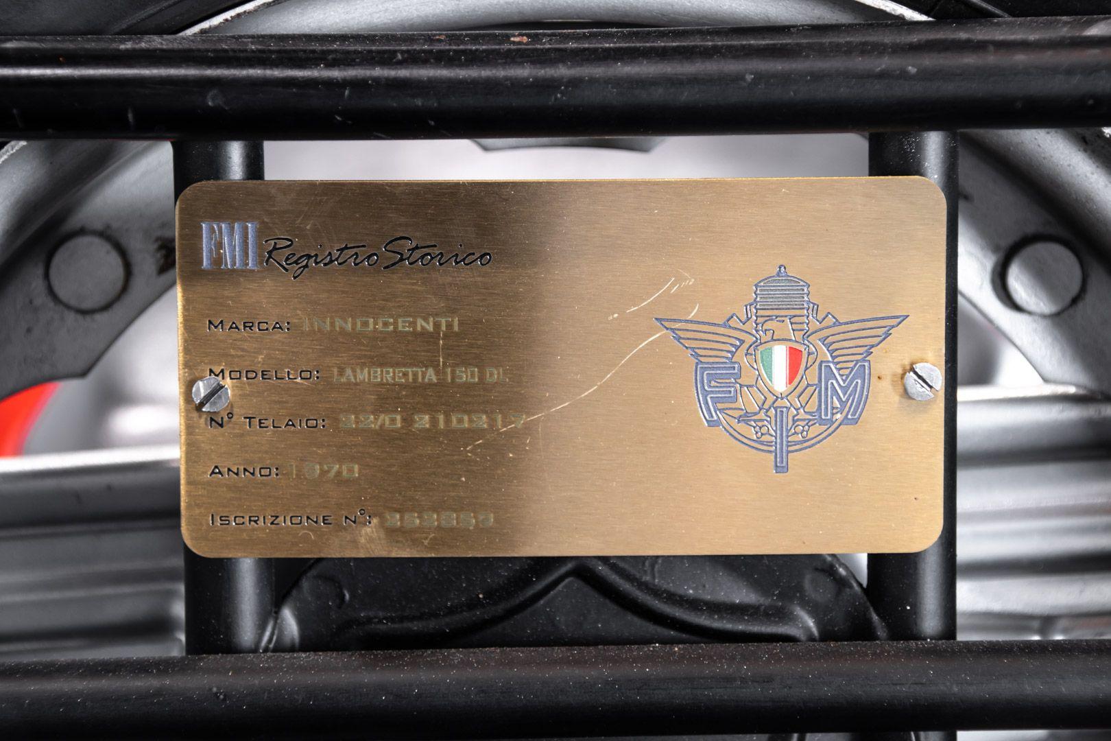 1970 Innocenti Lambretta DL150 Macchia Nera 82470