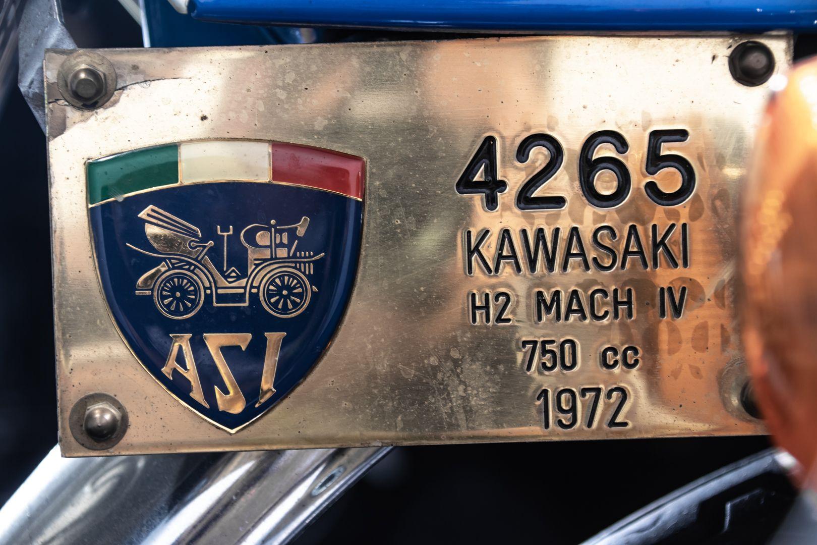 1972 Kawasaki H2 Mach 750 72235