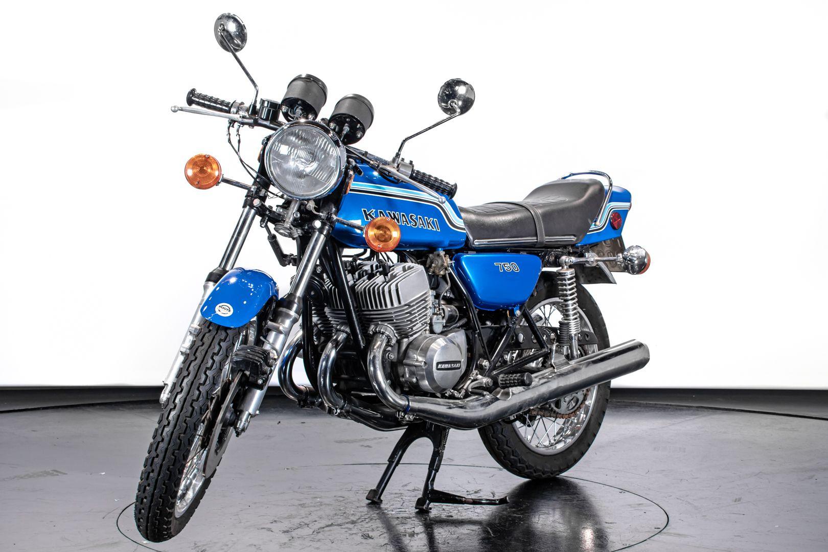 1972 Kawasaki H2 Mach 750 72208