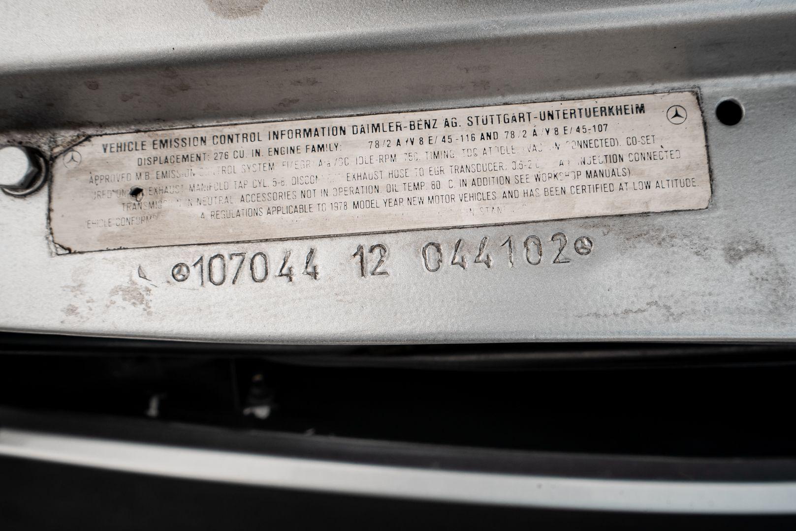 1977 Mercedes-Benz SL 450 73697