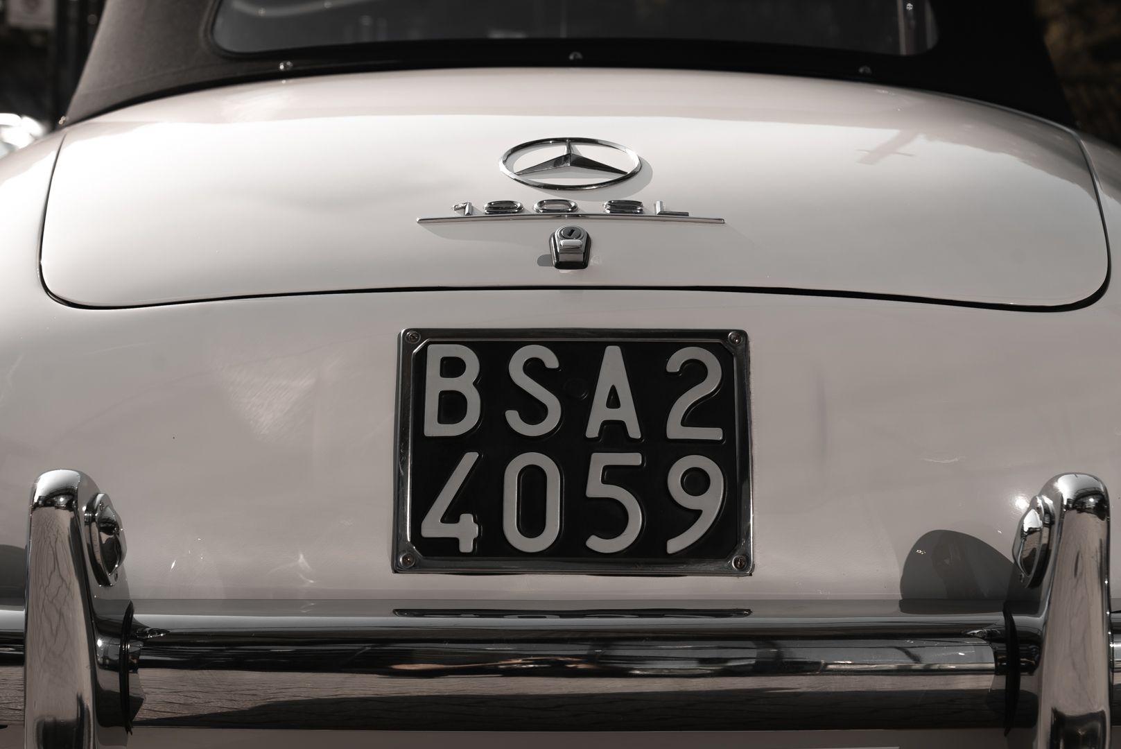 1959 Mercedes-Benz 190 SL 82300