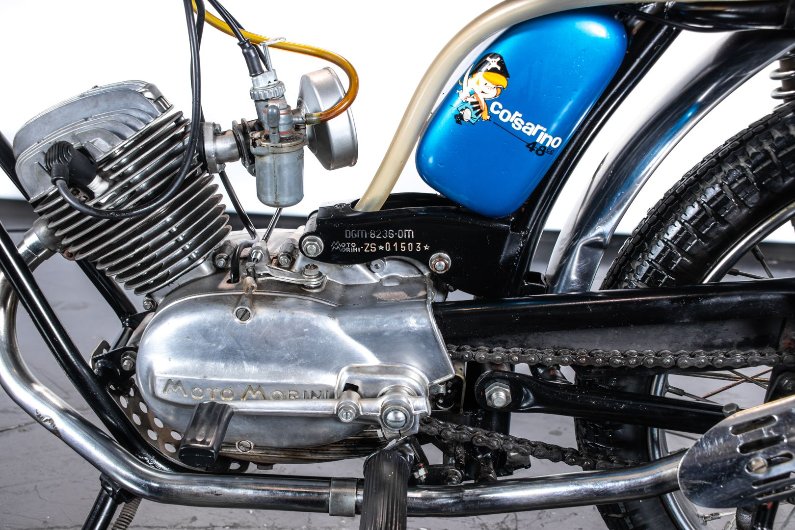 1973 Moto Morini Corsarino ZT Super Scrambler 77679