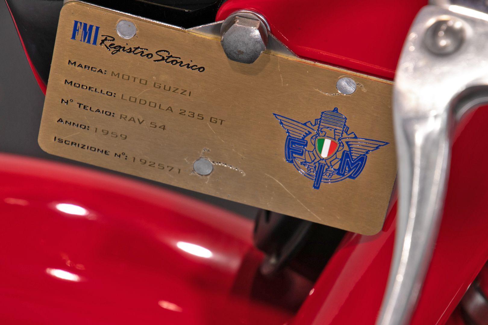 1959 Moto Guzzi Lodola 235 GT 41889