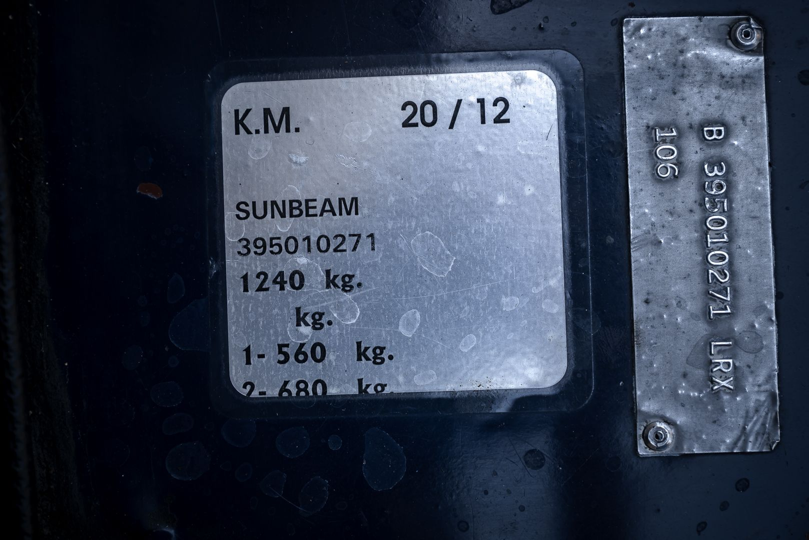 1967 Sunbeam Alpine 1725 72163