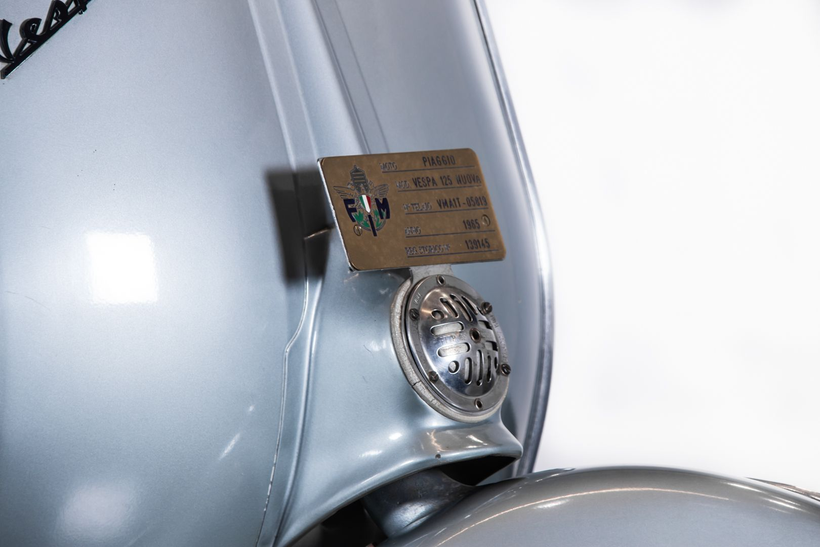 1965 Piaggio Vespa 125 VMA 78332