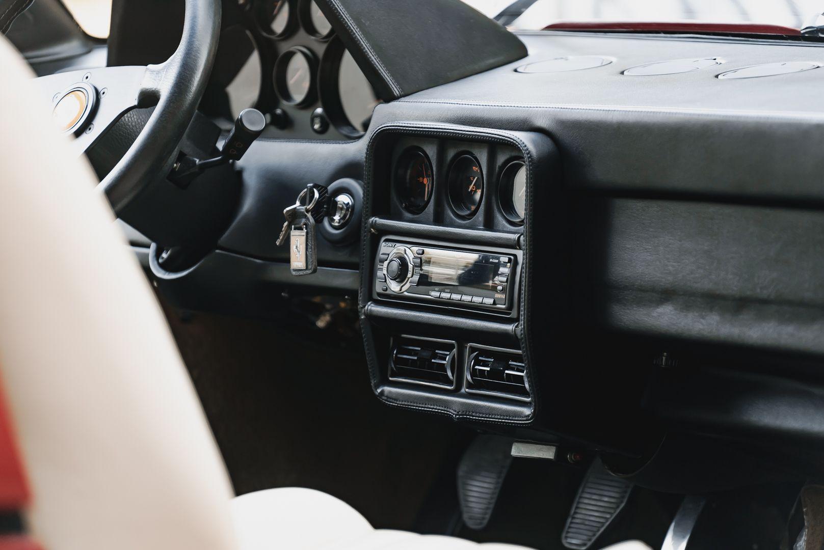 1988 FERRARI 208 GTS TURBO INTERCOOLER 75410