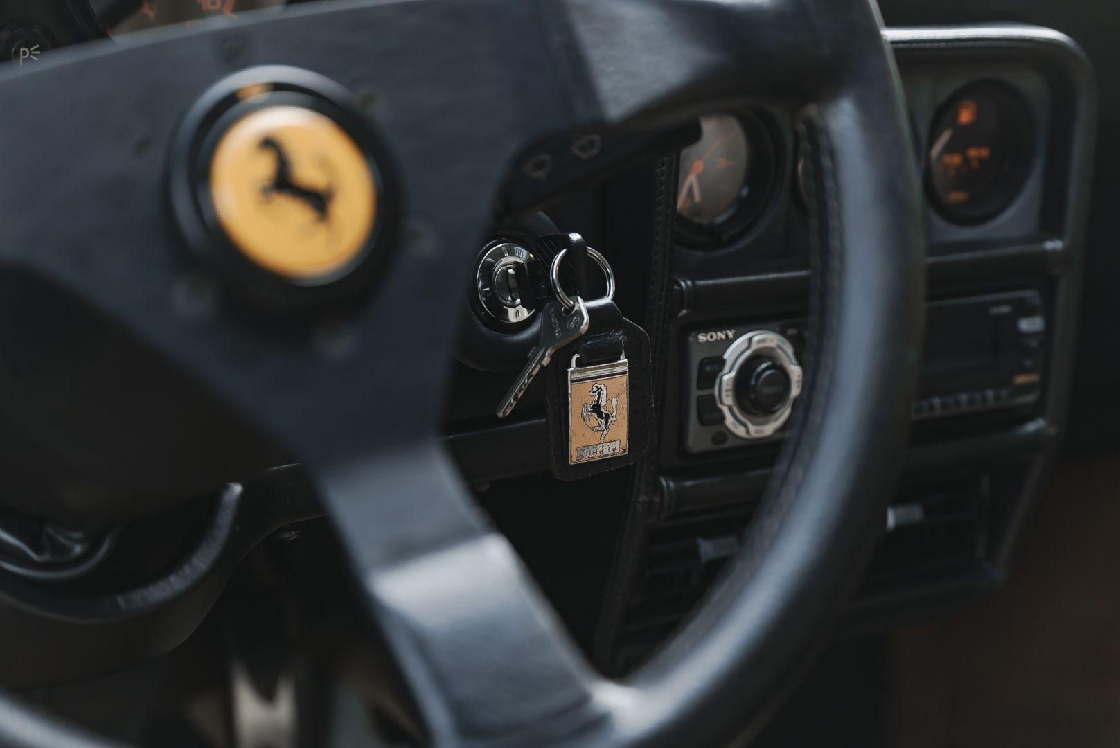 1988 FERRARI 208 GTS TURBO INTERCOOLER 75411