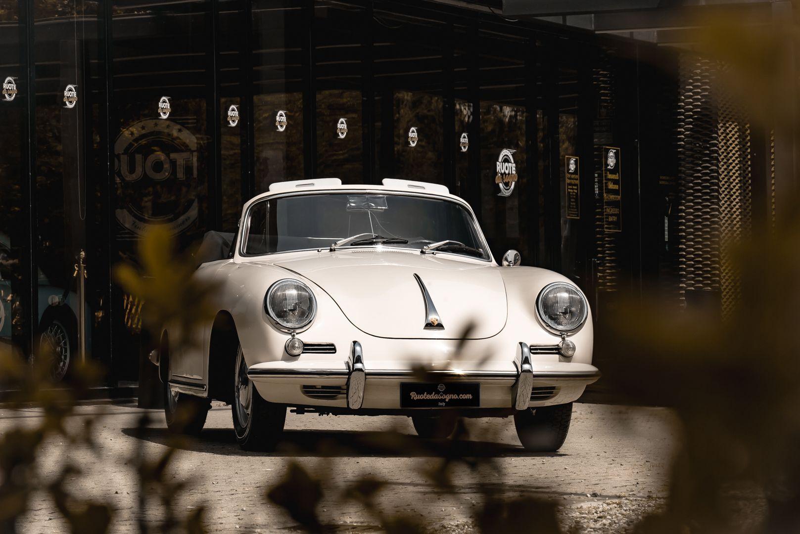 1964 PORSCHE 356 C Cabriolet 1600 SC 75431