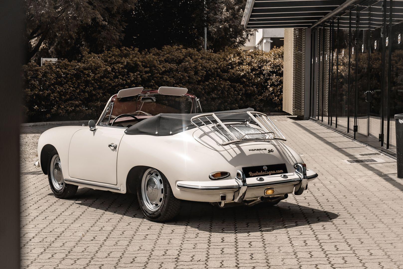 1964 PORSCHE 356 C Cabriolet 1600 SC 75427