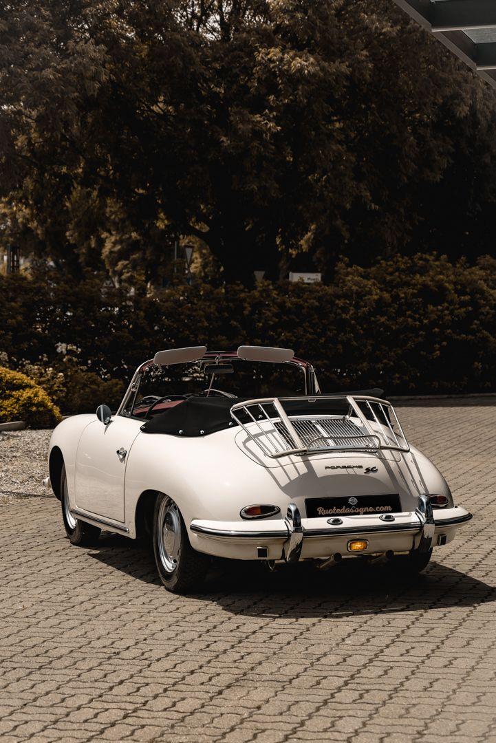 1964 PORSCHE 356 C Cabriolet 1600 SC 75440