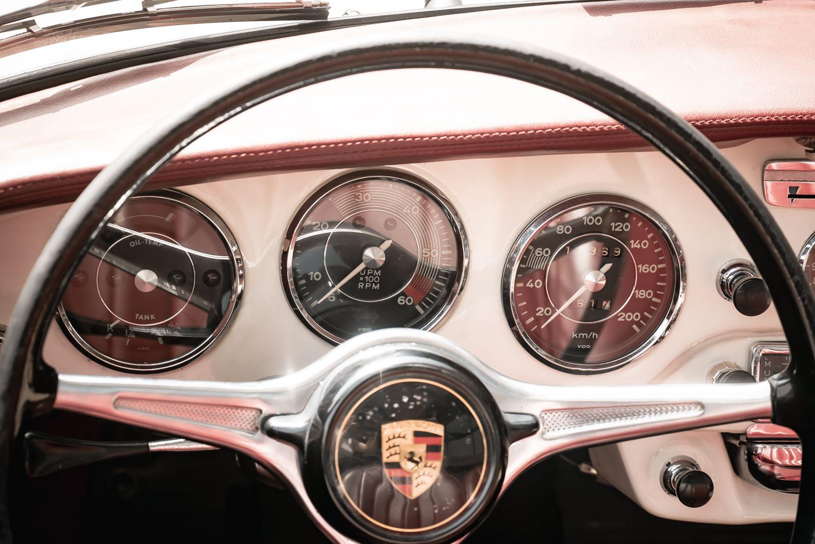 1964 PORSCHE 356 C Cabriolet 1600 SC 75455