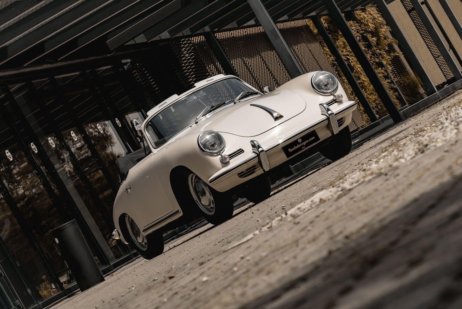1964 PORSCHE 356 C Cabriolet 1600 SC 75433