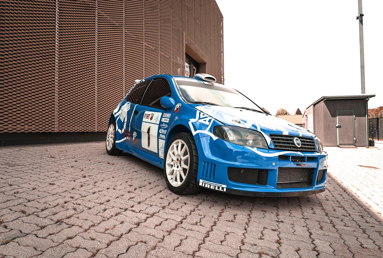 2004 Fiat Punto S1600 Rally 76544