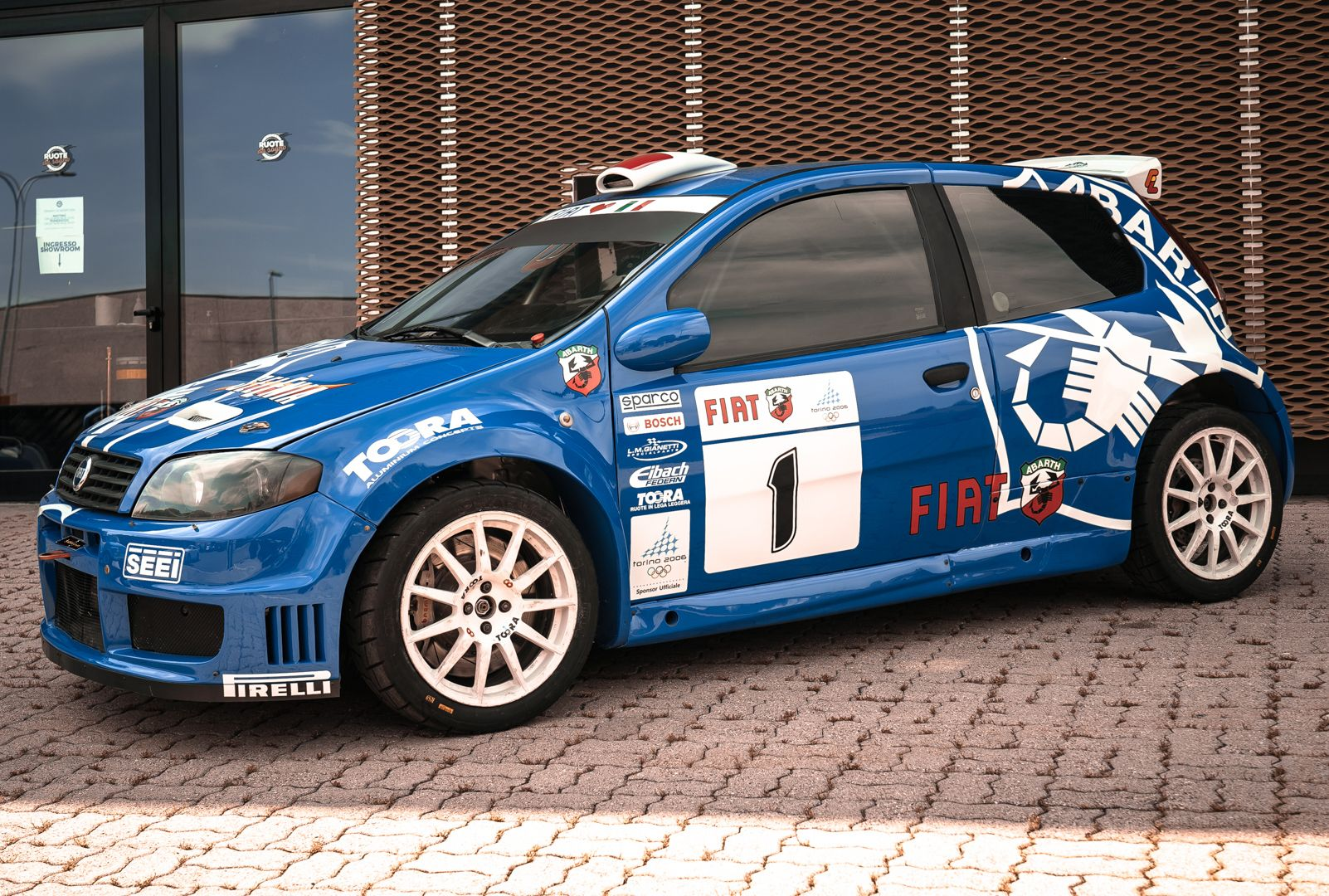 2004 Fiat Punto S1600 Rally 76541