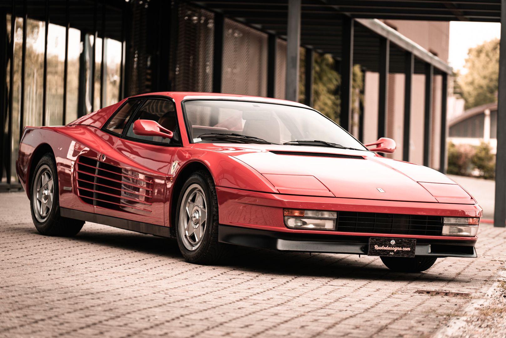 "1987 Ferrari Testarossa ""Monodado Bispecchio"" 76900"