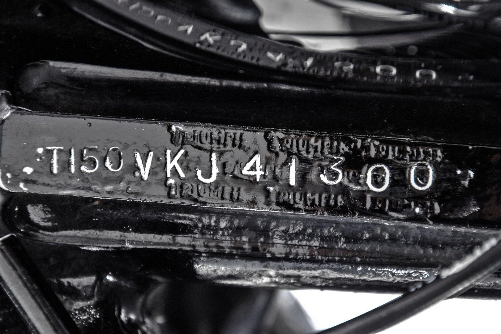 1974 Triumph T150 38328