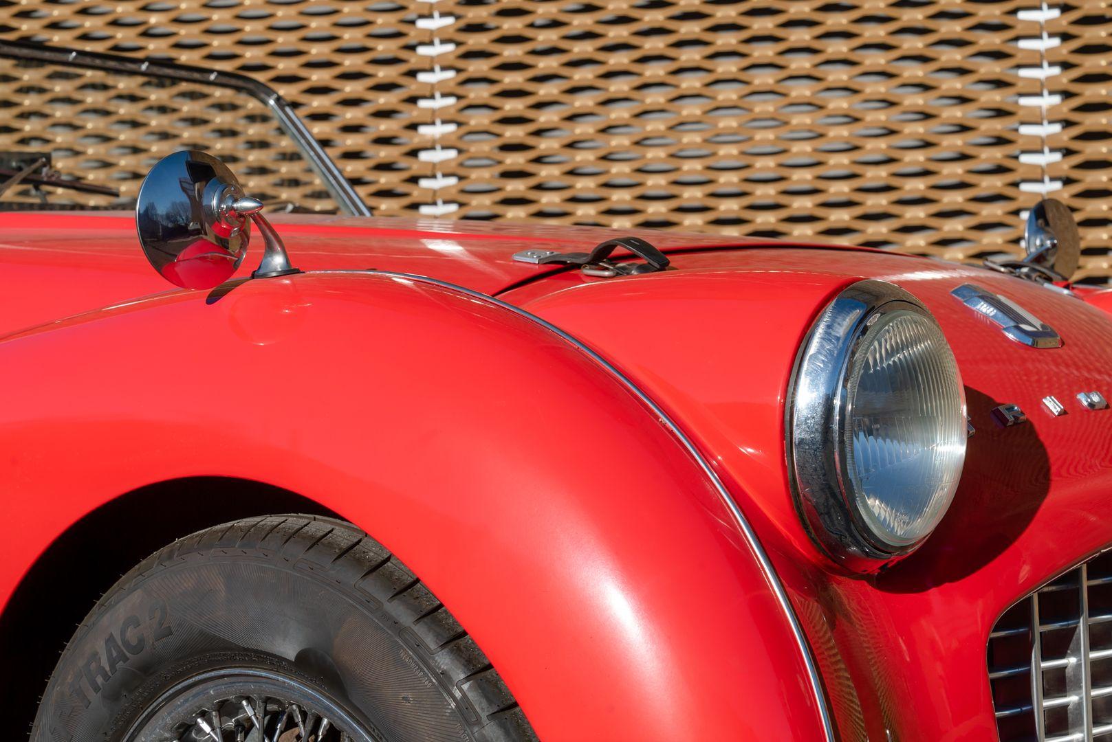 """1958 Triumph TR3A """"Bocca Stretta"""" 59680"""
