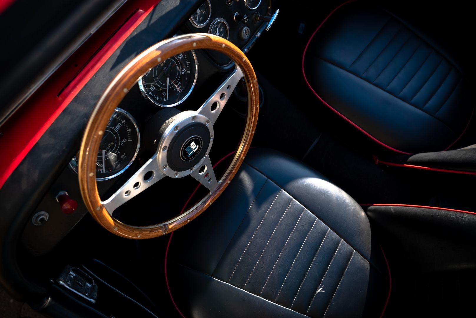 """1958 Triumph TR3A """"Bocca Stretta"""" 59700"""