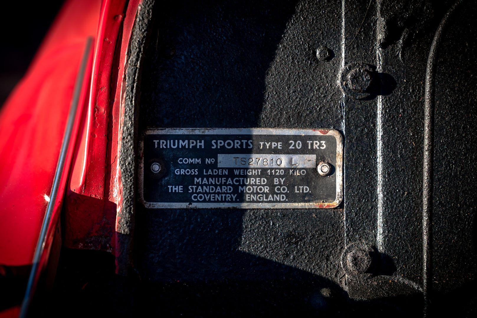 """1958 Triumph TR3A """"Bocca Stretta"""" 59704"""