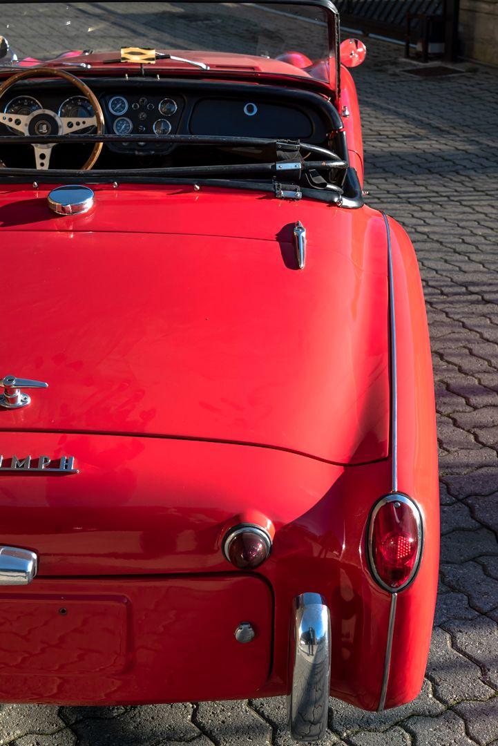 """1958 Triumph TR3A """"Bocca Stretta"""" 59707"""