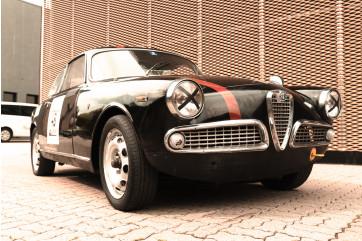 1962 Alfa Romeo Giulietta Sprint 1300 da gara