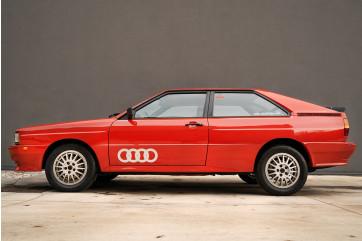 1982 Audi quattro turbo