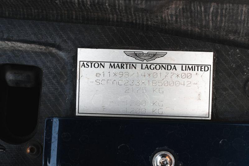 2001 Aston Martin V12 Vanquish 67951