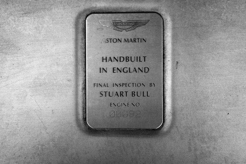 2001 Aston Martin V12 Vanquish 67954