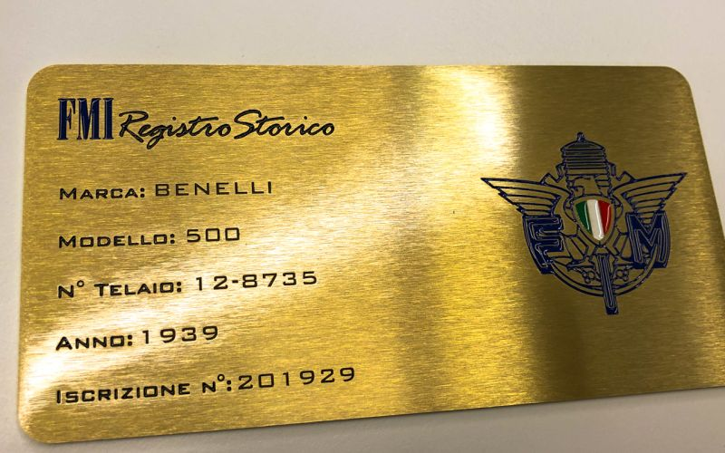 1939 Benelli 500 72501