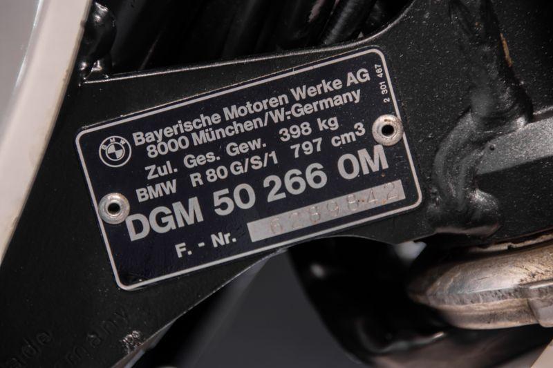 """1987 BMW R80 GS """"Parigi Dakar"""" 79659"""