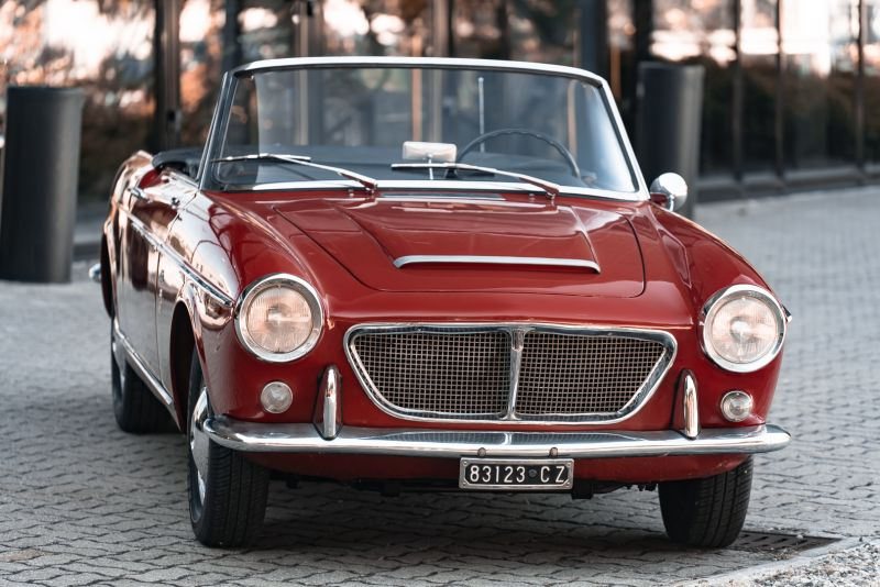 1962 Fiat 1200 Cabriolet Pininfarina 76323