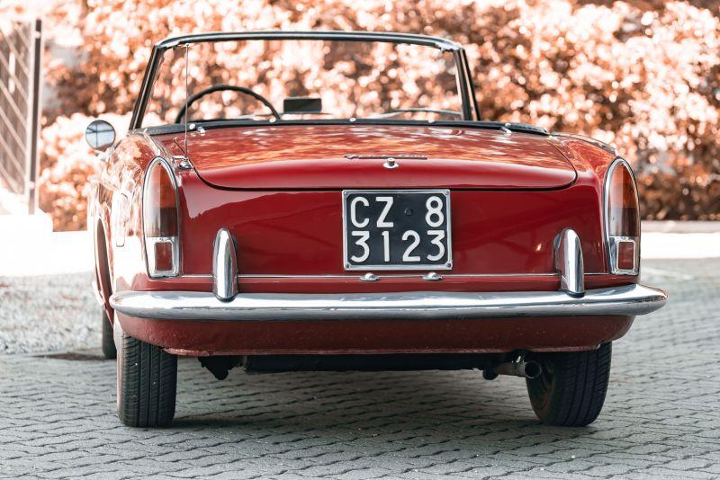 1962 Fiat 1200 Cabriolet Pininfarina 76325